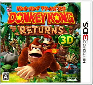 3DS Donkey Kong Returns 3D(Released)(3DS ドンキーコング リターンズ 3D)