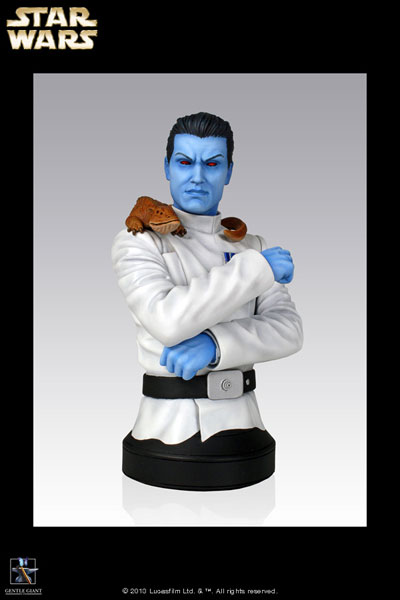 Star Wars - Mini Bust: Grand Admiral Thrawn(Back-order)