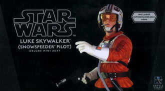 Star Wars - Mini Bust: Luke Skywalker (Snowspeeder Pilot)(Back-order)