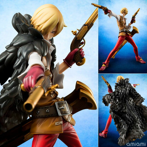 "Excellent Model Portrait.Of.Pirates ONE PIECE ""EDITION-Z"" Sanji 1/8 Complete Figure(Released)"