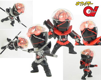 Tokusatsu Metalboy Heroes - The Four Hakaider Silver Hakaider & Red Hakaider Unpainted Assembly Kit(Back-order)