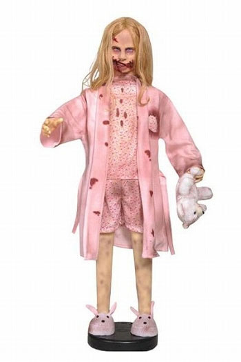 The walking dead / teddy bear girl life size statue one piece of article 《 out of stock 》