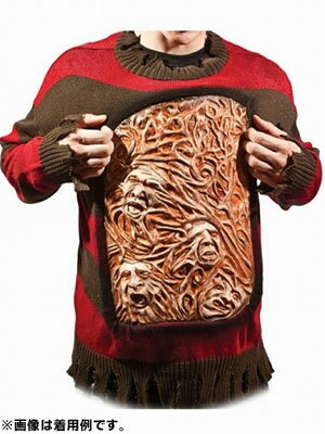 A Nightmare on Elm Street / Freddy Krueger Animated Chest of Souls Sweater(Back-order)