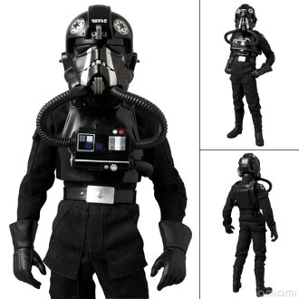 "Real Action Heroes No.631 Star Wars - TIE-FIGHTER PILOT (Black 3 ""Backstabber"")"
