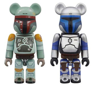 BE@RBRICK - Star Wars 2 Pack Jango Fett & Boba Fett