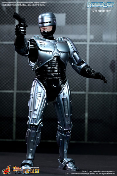 Movie Masterpiece DIECAST - Robocop 1/6 Scale Figure - Robocop