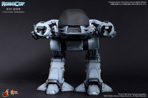 Movie Masterpiece Robocop 1/6 Scale Figure - ED-209 (Talking Edition)