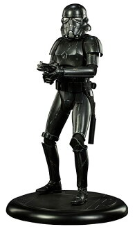 Star Wars 1 / 4 premium figure black hole Stormtrooper electric car? s April provisional reservations.""