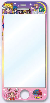 20th Anniversary Sailor Moon SENSAI Air Bubble Cut iPhone5 Sailor Moon 01 Group 5SK
