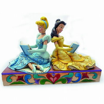 Enesco Disney Traditions - Disney Princess Cinderella & Bell Bookend