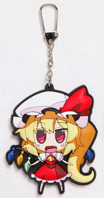 Touhou Project - Akaneya Rubber Keychain: Flan(Back-order)(東方プロジェクト 茜屋ラバー・キーホルダー フラン 単品)