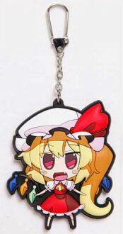 Touhou Project - Akaneya Rubber Keychain: Flan(Released)