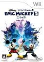 Wii ディズニー エピックミッキー2:二つの力[スパイク・チュンソフト]《取り寄せ※暫定》