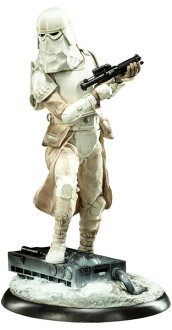Star Wars 1 / 4 premium figure snow Trooper car? s April provisional reservations.""