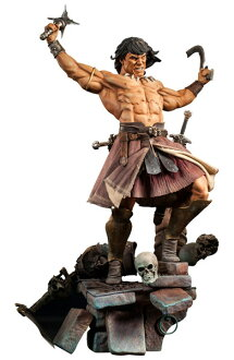 Conan the barbarian 1 / 4 premium figure rage-of-the-undying car? s April proposed.""
