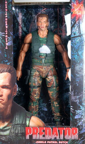 Predator 1/4 Scale Action Figure - Alan Dutch Schaefer