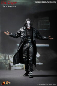 Movie masterpiece Crowe flying legend 1 / 6 scale fully poseable figure Eric ドレイヴン electric car? s April proposed.""