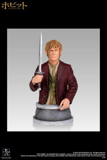 Hobbit: an unexpected adventure-mini bust: Bilbo-バギンス car? s April provisional reservations.""