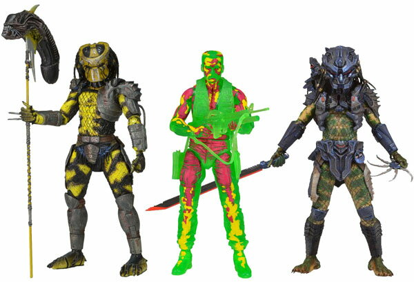Predator Action Figure Series 11 Set of 3 Types