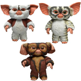 Gremlins Action Figure Mogwai Series 4 Set of 3 Types