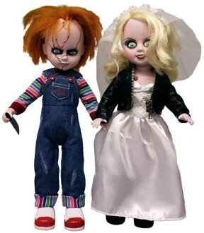 Bride of Chucky/living dead doll Chucky & Tiffany 2 Pack? s January proposed.""
