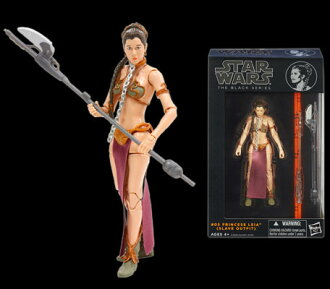 "Star Wars Hasbro Action Figure 6 Inch ""Black"" #05 Leia Organa"