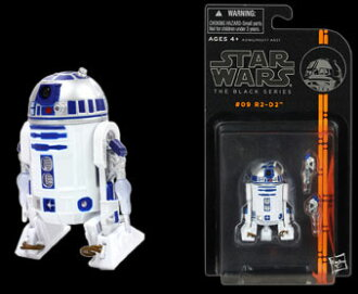 "Star Wars Hasbro Action Figure 3.75 Inch ""Black"" #09 R2-D2"