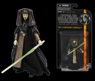 "Star Wars Hasbro Action Figure 3.75 Inch ""Black"" #11 Luminara Unduli(Back-order)"