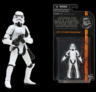 "Star Wars Hasbro Action Figure 3.75 Inch ""Black"" #13 Stormtrooper"
