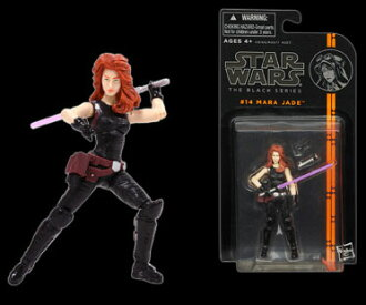 "Star Wars Hasbro Action Figure 3.75 Inch ""Black"" #14 Mara Jade"