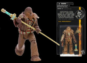 "Star Wars Hasbro Action Figure 3.75 Inch ""Black"" #15 Merumeru"