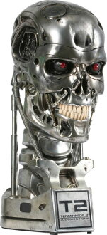 The Terminator 2 Life-size Bust:T-800 Endoskeleton (Combat Ver.) [Reproduction Edition]