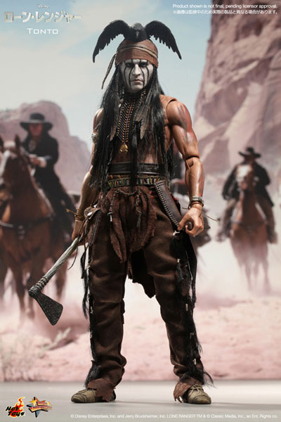 Movie Masterpiece The Lone Ranger 1/6 Scale Figure - Tonto(Released)