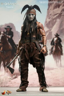 Movie Masterpiece The Lone Ranger 1/6 Scale Figure - Tonto