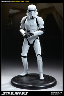 Star Wars 1 / 4 プレミアムフォーマットフィギュア Storm trooper car (who resell)? s April provisional reservations.""