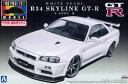 1/24 プリペイントモデル No.32 R34 スカイライン GT-R V-SpecII(ホワイトパール) プラモデル(再販)[アオシマ]《02月予約》