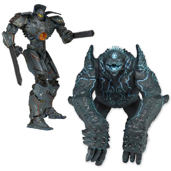 Pacific Rim 7 Inch DX Action Figure 2 Pack (Gipsy Danger Battle Damage ver. VS Leatherback)
