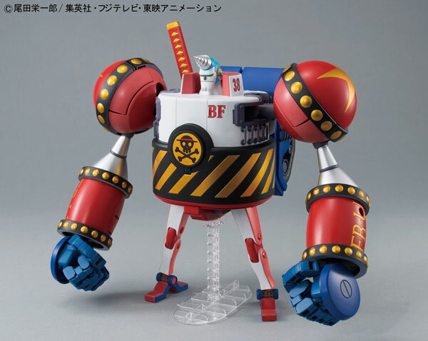 Best Mecha Collection - ONE PIECE: General Franky Plastic Model