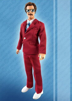 Anchorman: The Legend Of Ron Burgundy - Ron Burgundy 13 Inch Talking Figure
