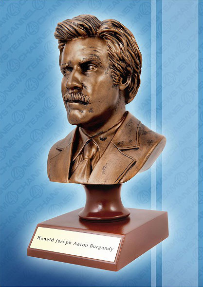 Anchorman: The Legend Of Ron Burgundy - Ron Burgundy 7 Inch Resin Bust