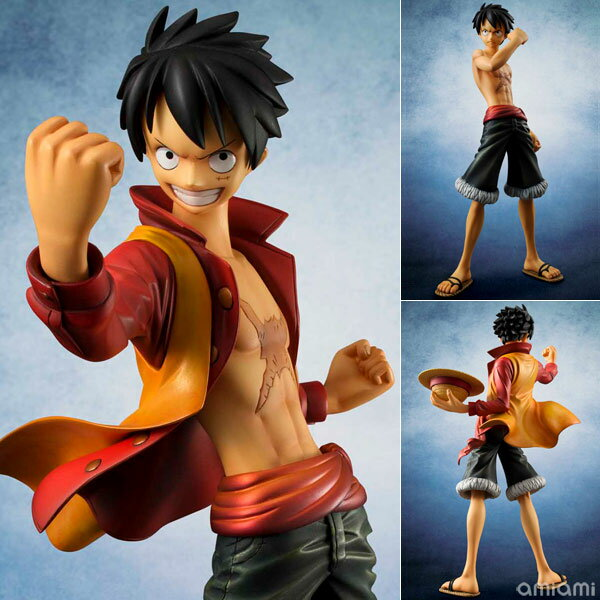 "Portrait.Of.Pirates ONE PIECE ""EDITION-Z"" Monkey D. Luffy 1/8 Complete Figure(Released)(Portrait.Of.Pirates ワンピース ""EDITION-Z"" モンキー・D・ルフィ 1/8 完成品フィギュア)"