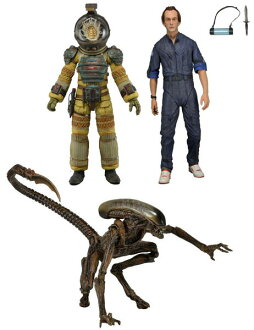 Alien 7 Inch Action Figure Series 3 Set of 3 Types