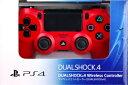 PS4用 ワイヤレスコントローラー(DUALSHOCK4) マグマ・レッド[SCE]【送料無料】《発売済・在庫品》