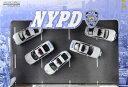 グリーンライト 1/64 NYPD (New York City Police Department) ジオラマ 5台セット[IDEA NETWORK]《06月仮予約》
