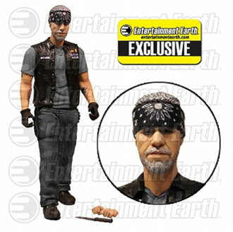 Sons of Anarchy Entertainment Earth Limited Cray Morrow 6 Inch Action Figure with Bandana(Back-order)