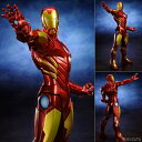 ARTFX+ アイアンマン MARVEL NOW! 【RED × GOLD】 1/10 PVC塗装済み簡易組立キット(再販)[コトブキヤ]《取り寄せ※暫定》