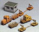 2151 未塗装ストラクチャーキット 保線区車両と詰所(再販)[グリーンマックス]《03月予約※暫定》