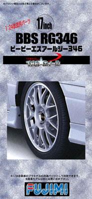 THE★ホイールシリーズ No.35 1/24 17inch BBS RG プラモデル(再販)[フジミ模型]《取り寄せ※暫定》