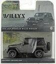 1/43 2014 Jeep Wrangler - Willys Wheeler Edition ? Granite[グリーンライト]《取り寄せ※暫定》