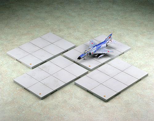 技MIX 技AC921 1/144 航空装備品1 駐機場ベース (4枚セット)(再販)[トミーテック]《発売済・在庫品》